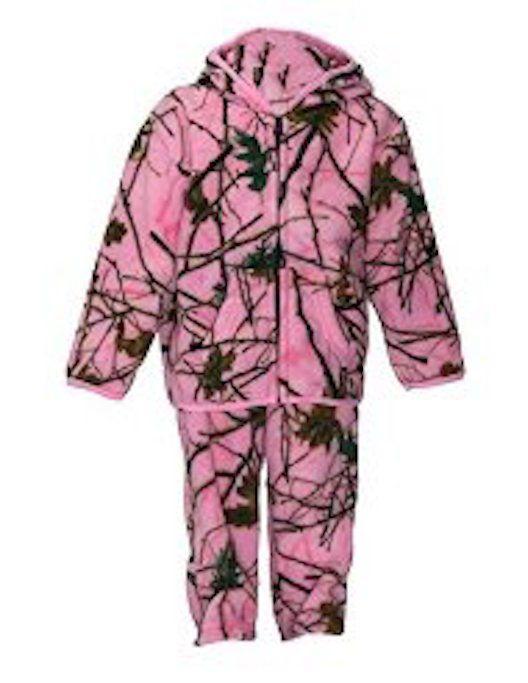 62b7c6b1e3d3 Outerwear 155201  Winter Fleece Pink Camouflage Kids Girls Jacket ...