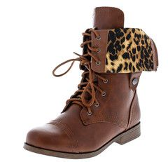 FREDA45I COGNAC LEOPARD  FASHION BOOTS FROM $12.88 - $27.88.