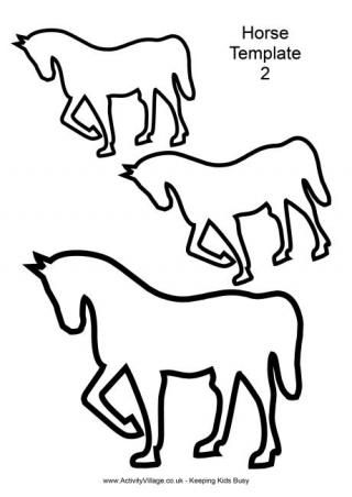 Horse template 2 cakecookie transfers templates lay ons horse template 2 cakecookie transfers templates lay ons pinterest animal templates template and crafts maxwellsz