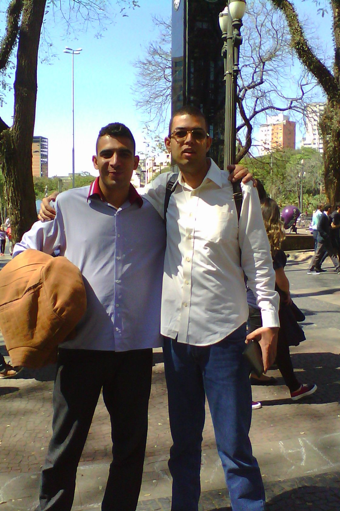 Missionário Rodrigo Cruz, o maior pregador de praças do Brasil na atualidade.