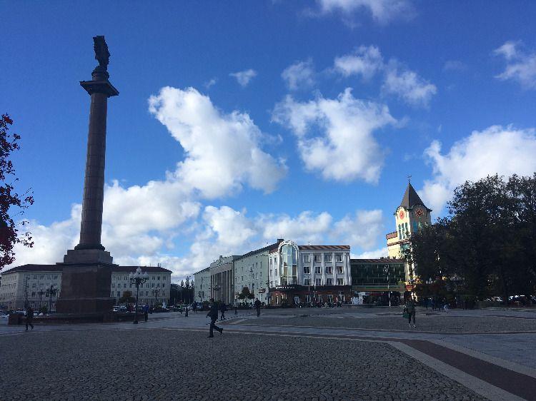 Площадь Победы, Калининград