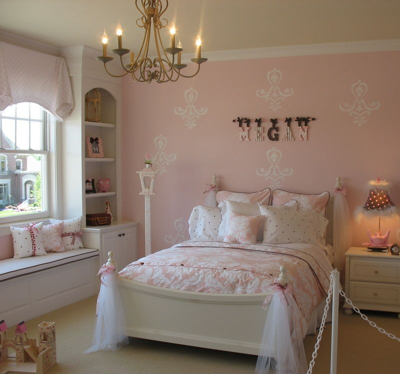 Best 25 pink girl rooms ideas on pinterest coloured girls pink kids bedroom furniture and Best bedroom ideas for small rooms