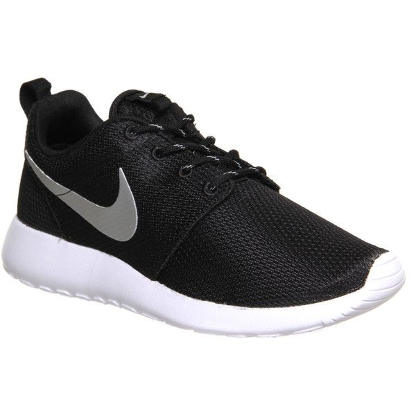 grosor Frustración Enjuague bucal  Nike Roshe Run - Polyvore | Nike roshe run black, Black sports shoes, Nike  roshe run