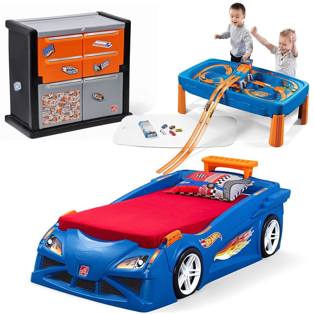 Hot Wheels Bedroom Combo By Step2 Is One Of Our Most Popular Race
