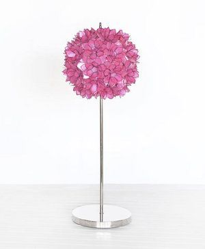 Hot Pink Flower Table Lamp Products I Love Pink Lamp Bedroom Room