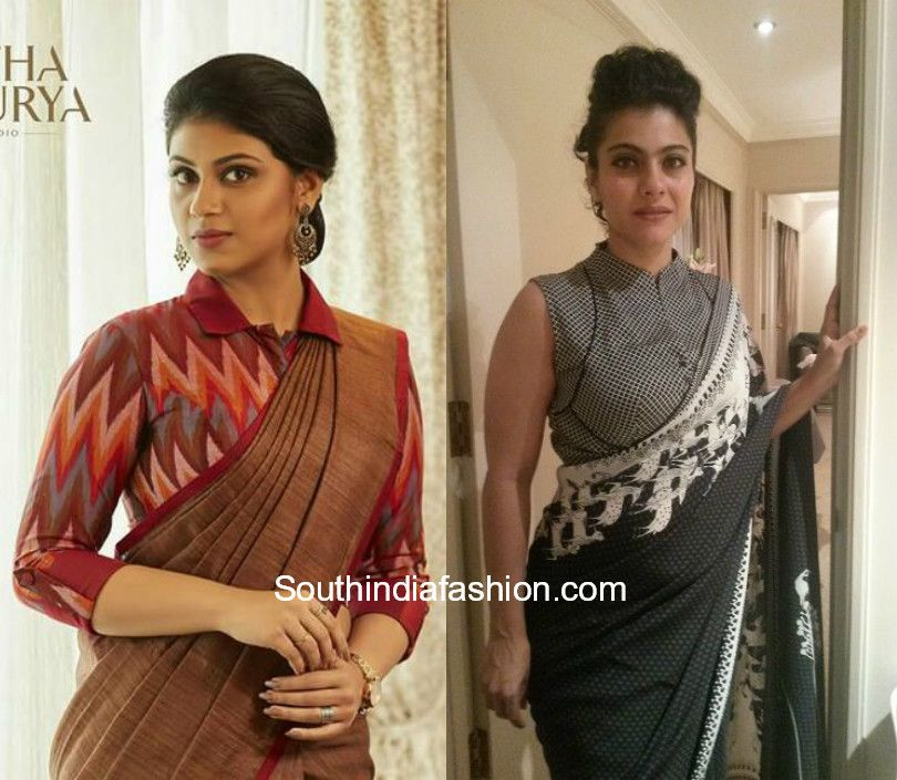 Collar Blouses For Sarees Blouse Neck Designs Trendy Blouse