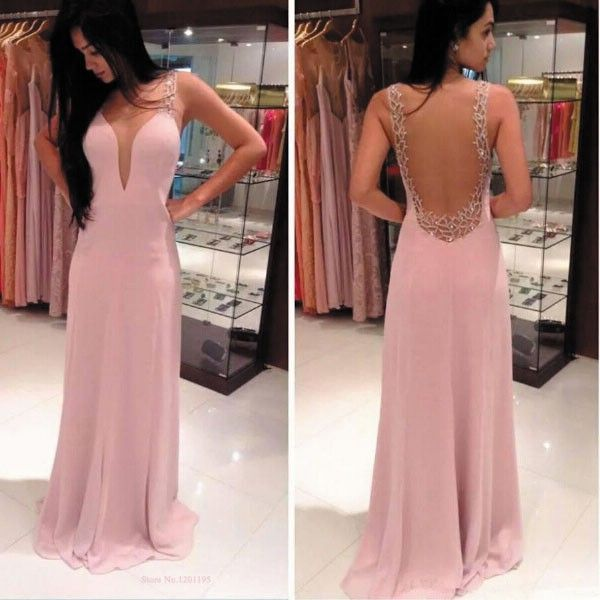 Charming Prom Dress,Chiffon Prom Dress,A-Line Prom Dress,Sexy Dress ...