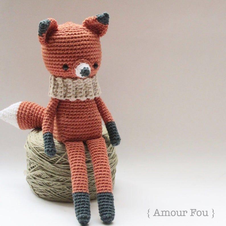 Free Crochet Amigurumi Fox Pattern | Ganchillo amigurumi, Patrones ... | 794x794