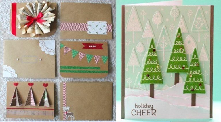 42 idées de cartes Joyeux Noël à offrir à vos proches - Des idées