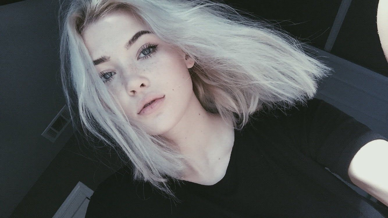 How To Get White Hair At Home Okaysage Pricheski V Stile