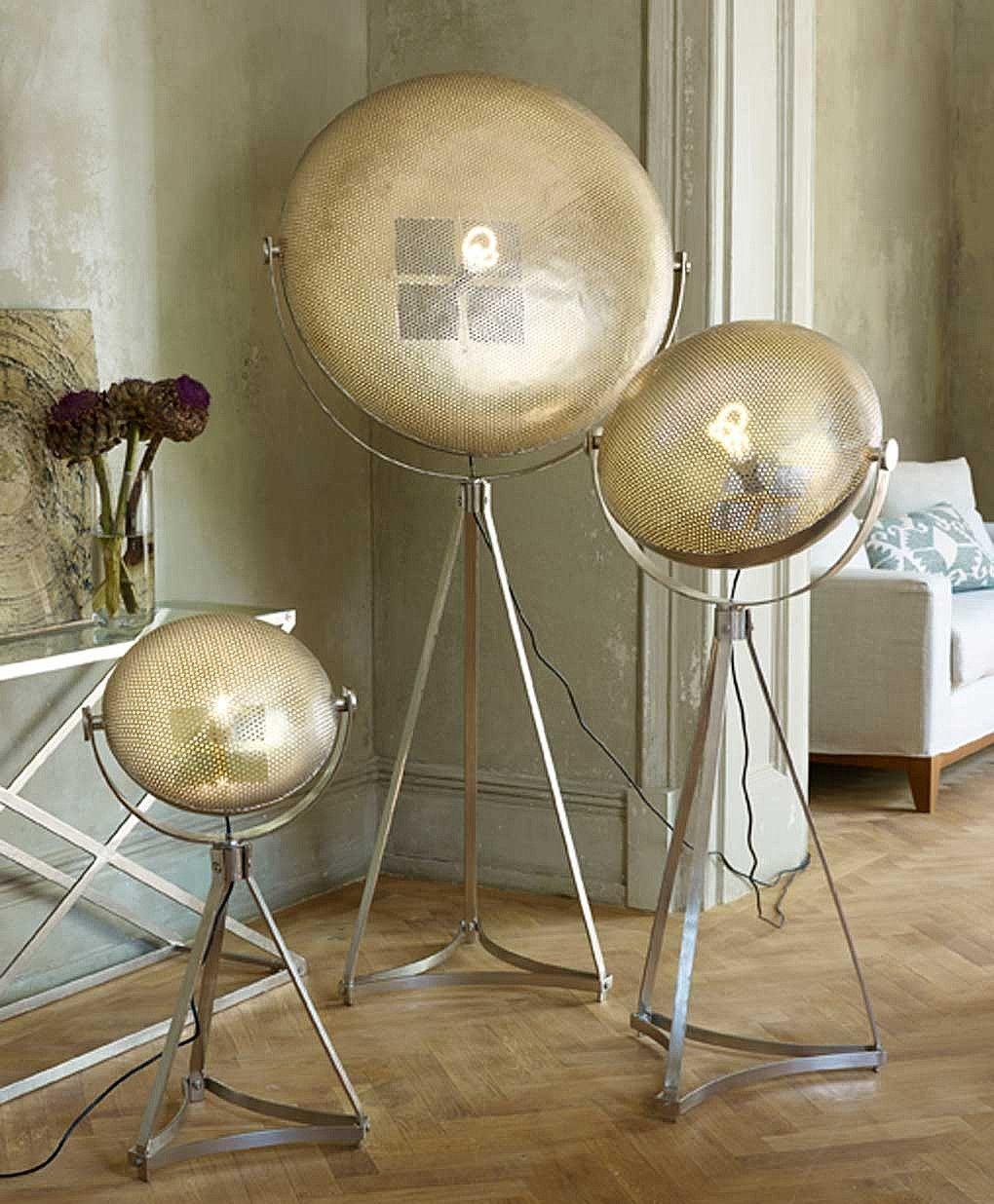 Artisan Disc Industrial Floor Lamp From Lombok Large Floor Lamp Industrial Floor Lamps Floor Lamp