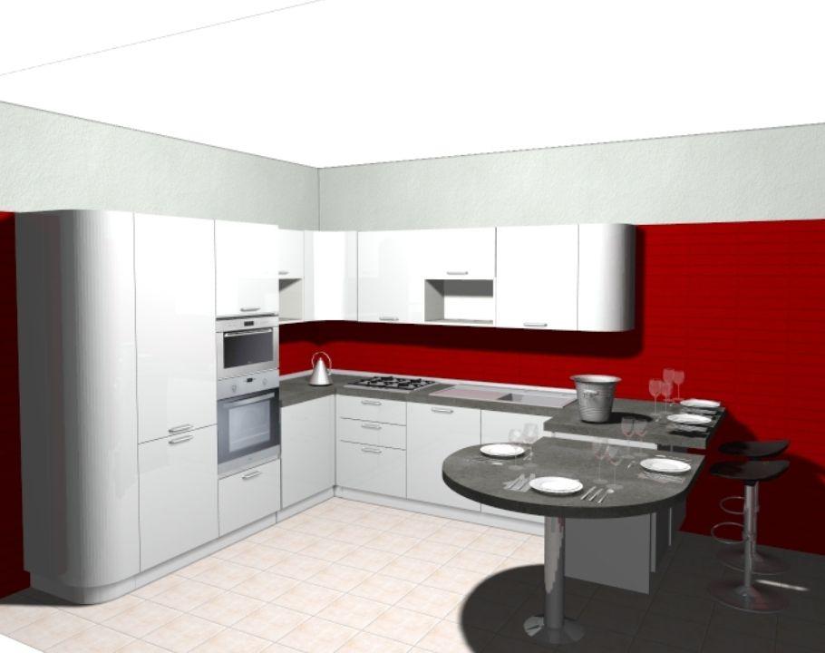 Progetto cucina Extra Tonda   cucine Domus arredi   Pinterest ...