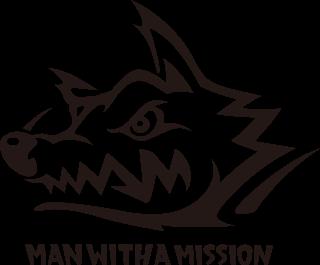 Logodol ロゴドル Man With A Missionの高画質透過ロゴ Man With A