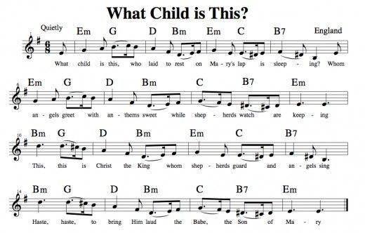 Easy Guitar Christmas Songs What Child Is This Greensleeves Melody Chords Fingerstyle Chord Melody What Child Is This Guitar Easy Guitar