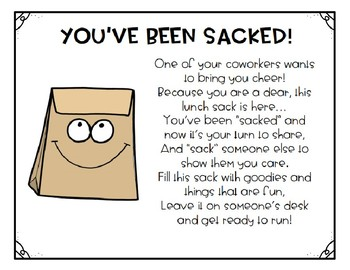 Staff Morale Booster - You've Been Sacked