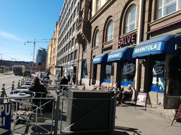 Salve on perinteinen ruokaravintola Helsingissä.