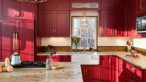 Painted Kitchen Cabinets: A Rainbow Of Possibilities In