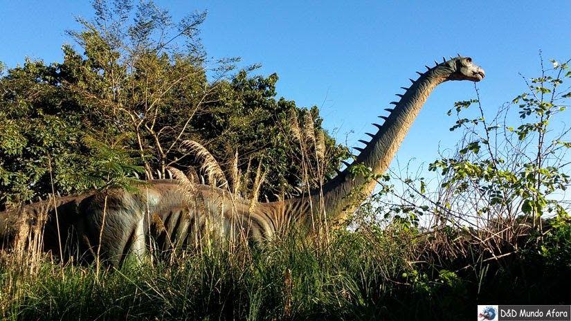 D&D Mundo Afora: Foz do Iguaçu (PR) - Vale dos Dinossauros