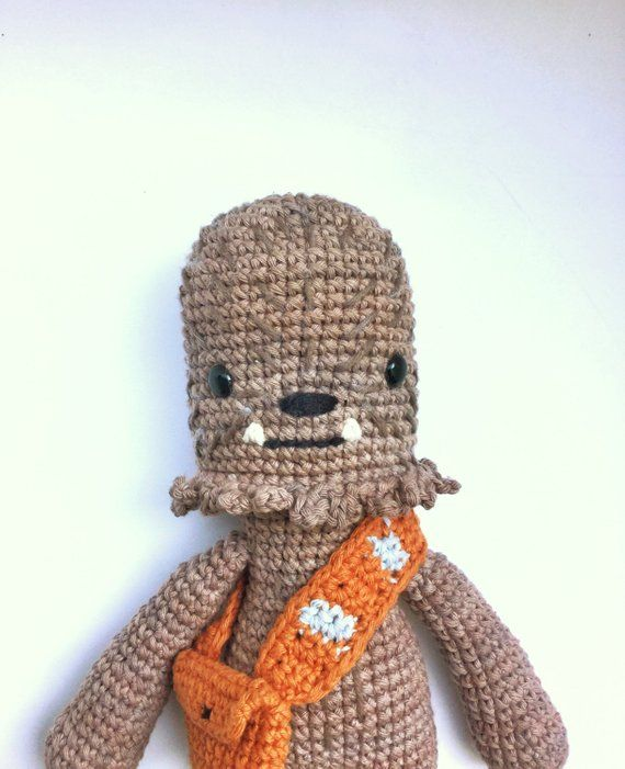 Ravelry: Chewbacca Star Wars amigurumi pattern by Paula Fuentes ... | 701x570