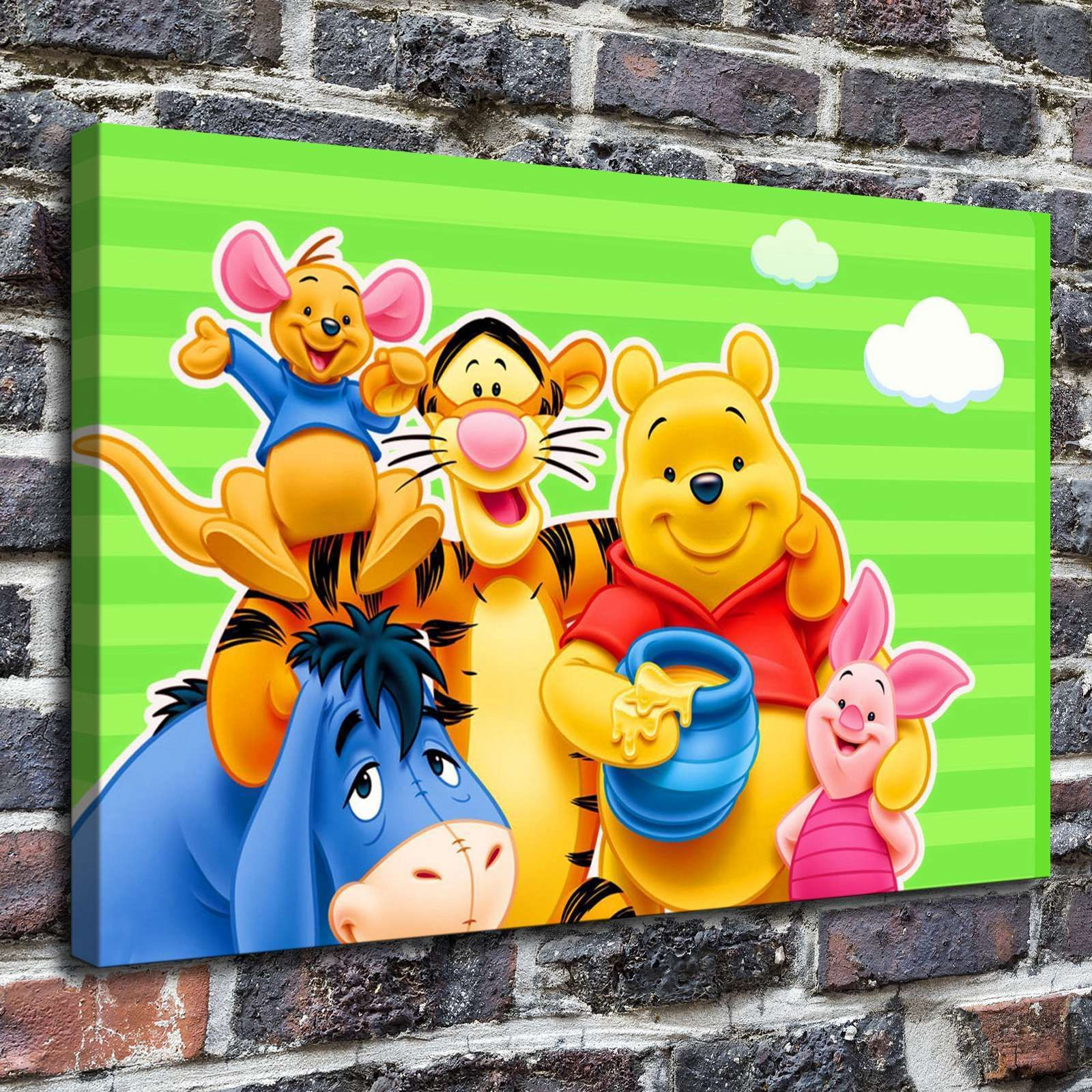 Winnie The Pooh Paintings Hd Print On Canvas Home Decor Wall Art ...