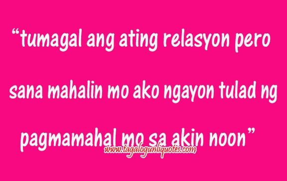Tagalog Long Distance Relationship Quotes | Love Quotes ...