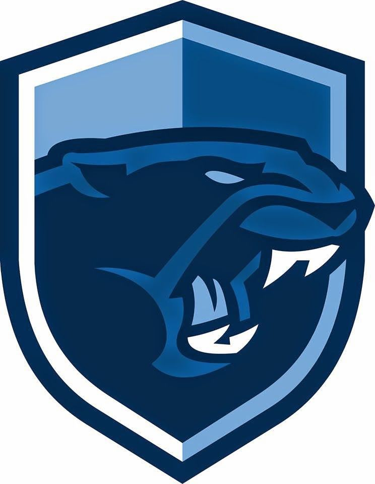 new franklin panthers logo from franklin high school massachusetts