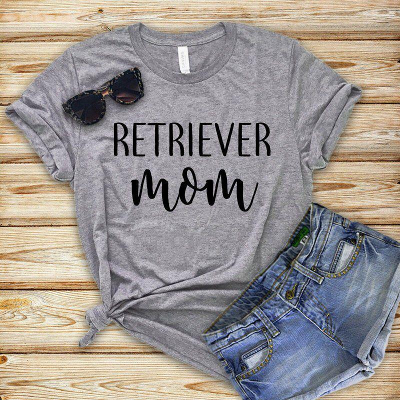 Retriever Mom Shirt Golden Retriever Gift Dog Lover Gift Fur