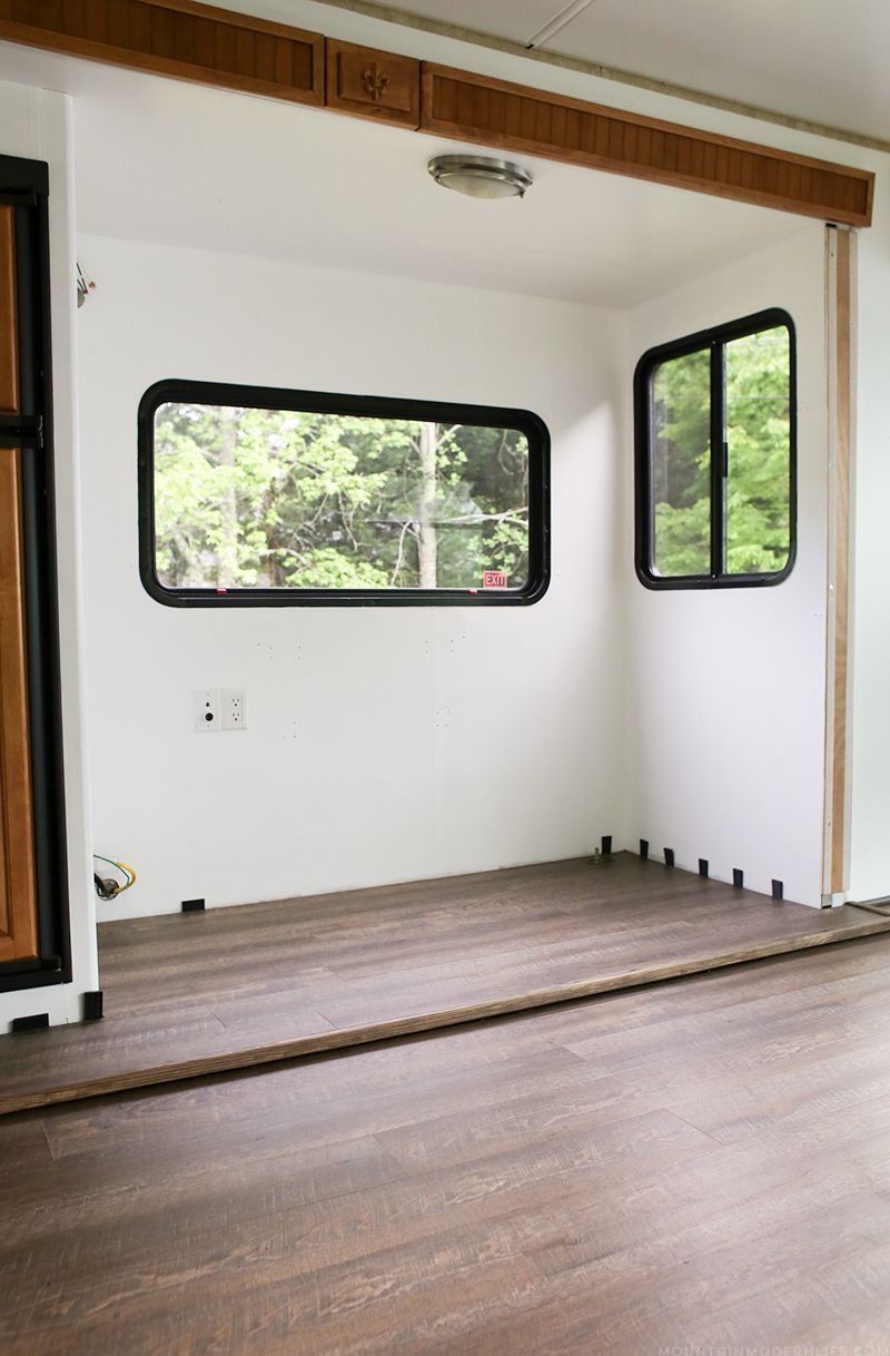 Tips To Replace The Flooring Inside An Rv Slide Out With Images