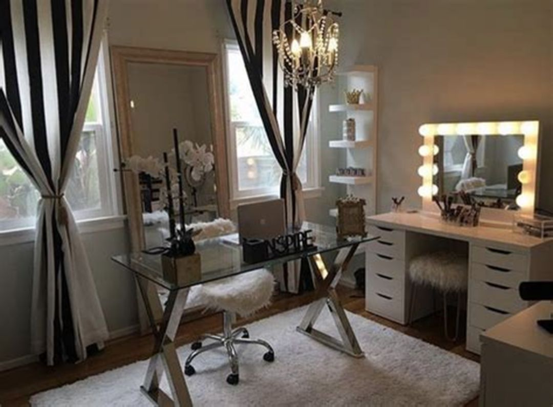 Awesome 30+ Makeup Rooms Design Ideas  Glam room, Beauty room