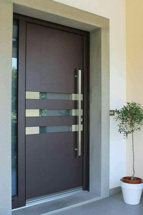 muito linda super moderna portas pinterest t ren haust r und eingangst r. Black Bedroom Furniture Sets. Home Design Ideas