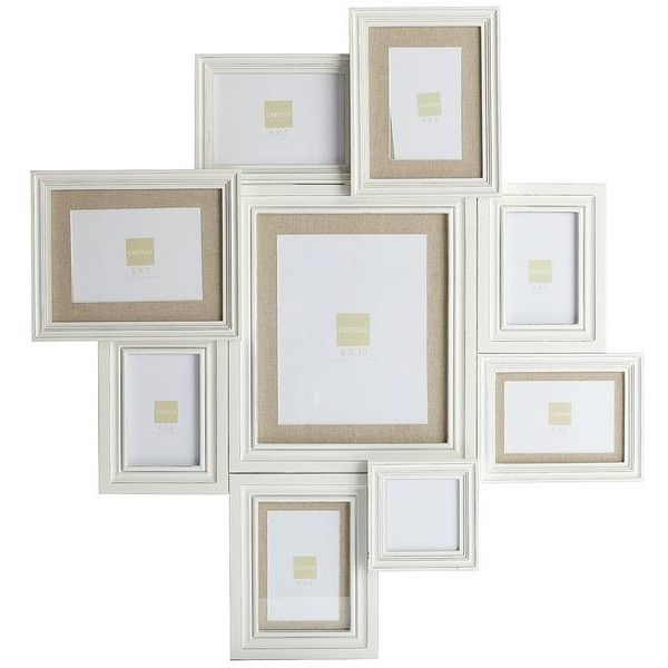 Pier 1 Imports White Savannah Collage Frame ($90) ❤ liked on ...