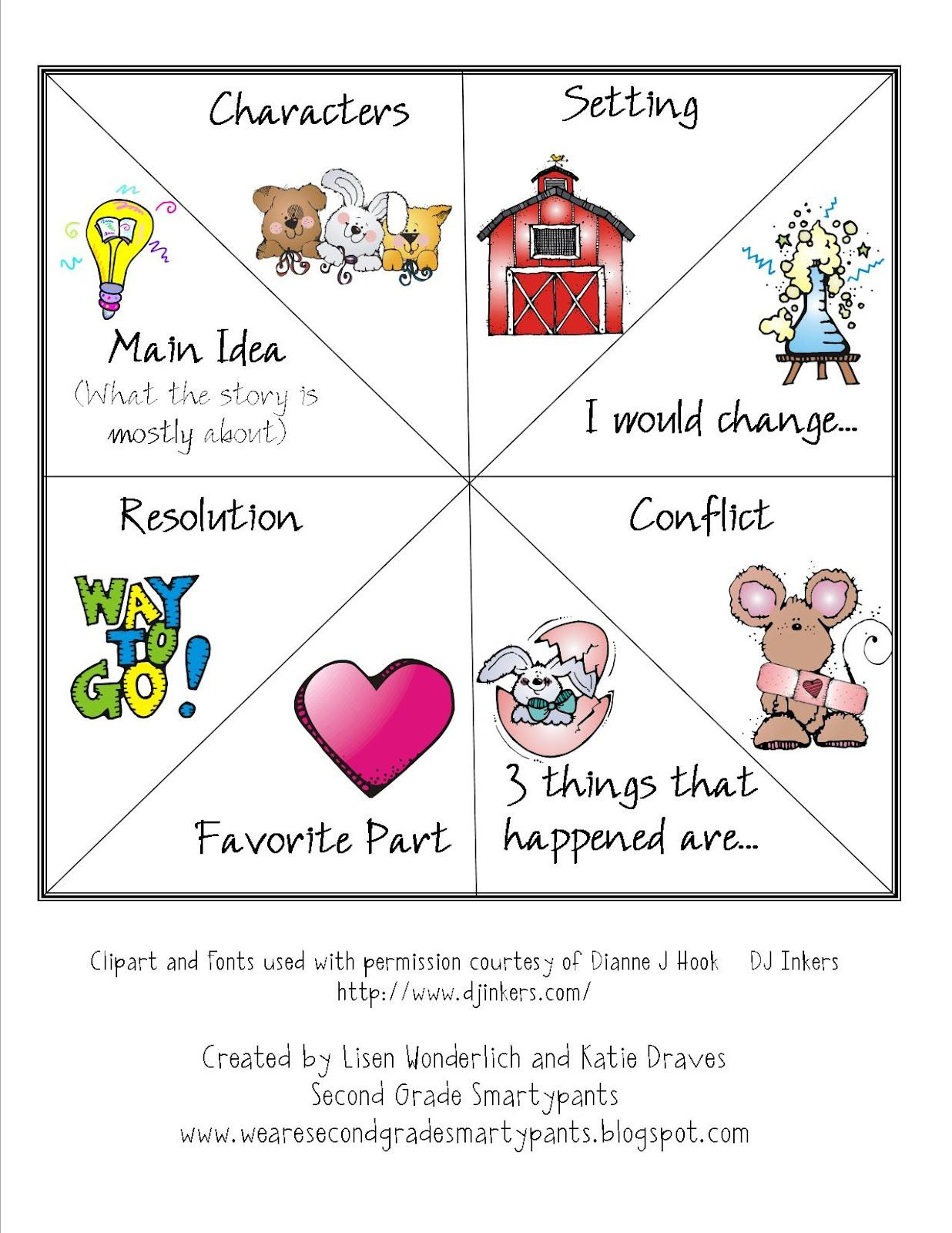 Story Elements And Comprehension