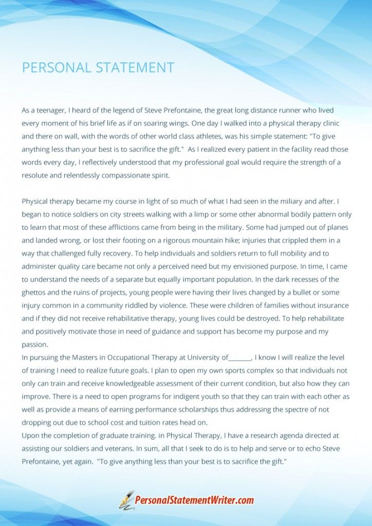 Pin by Personal Statement Writer Pictures on Personal Statement - personal statement sample