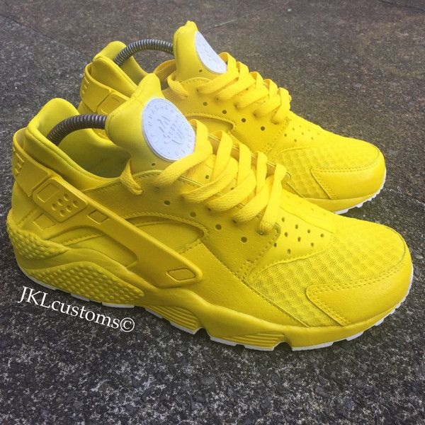 Lemon Zest Adults Nike Air Huarache Lemon Huarache Nike Huarache ...