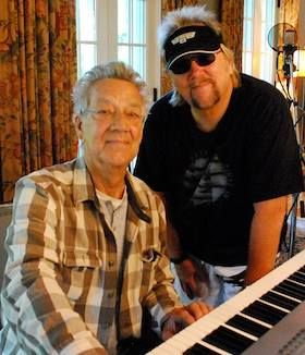 Behind the Scenes David Pack recording tracks with founding member and keyboardist of The Doors Ray Manzarek //  sc 1 st  Pinterest & Behind the Scenes: David Pack recording #NapaCrossroads tracks ...