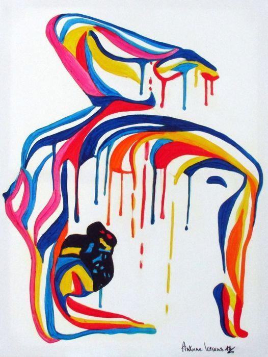 nude lesbische kunst