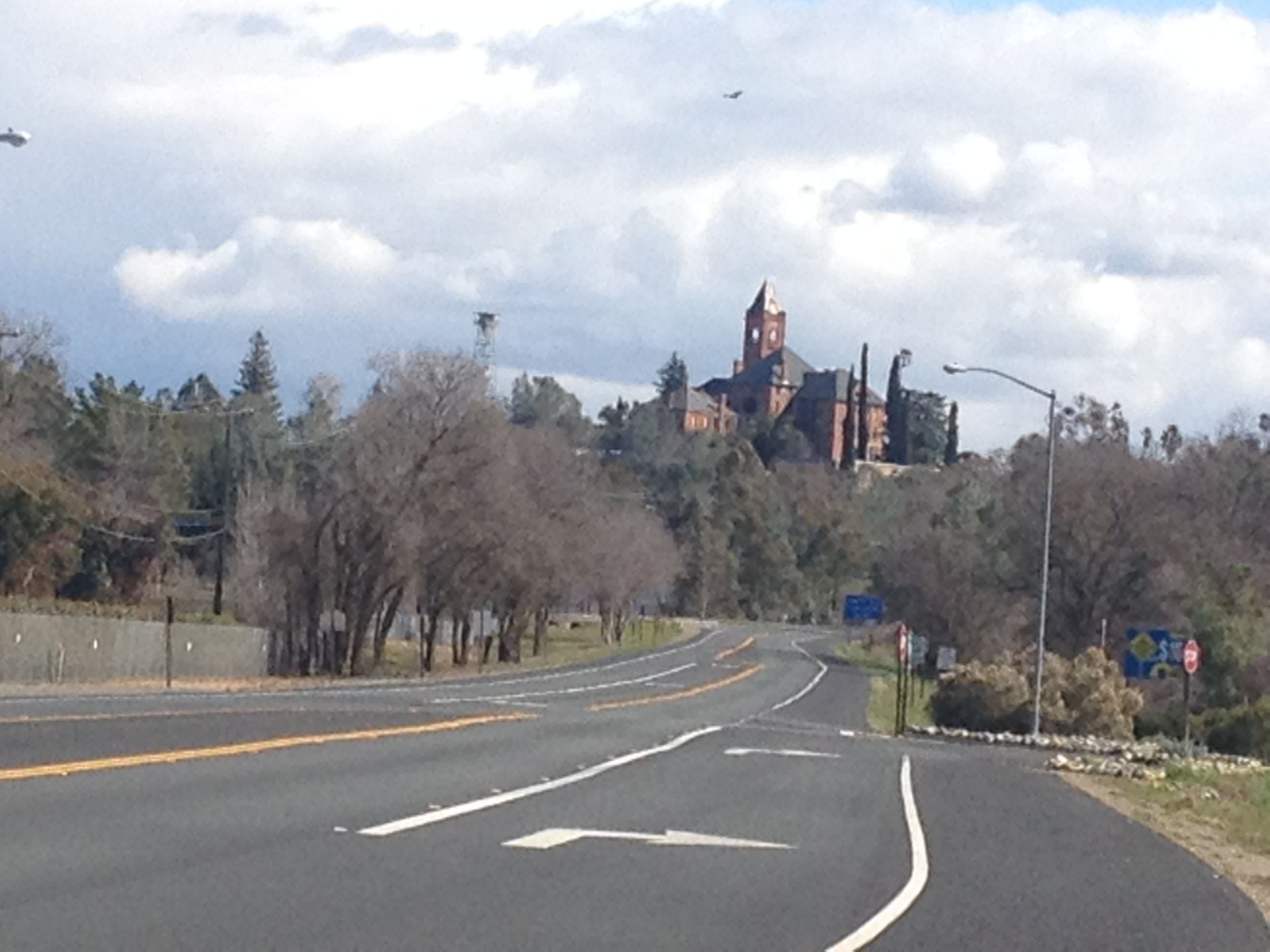 Ione, Ca. ~ the kids and I lived here... what a sight to come over the mtn and see the Castle.. which is known to be Haunted!