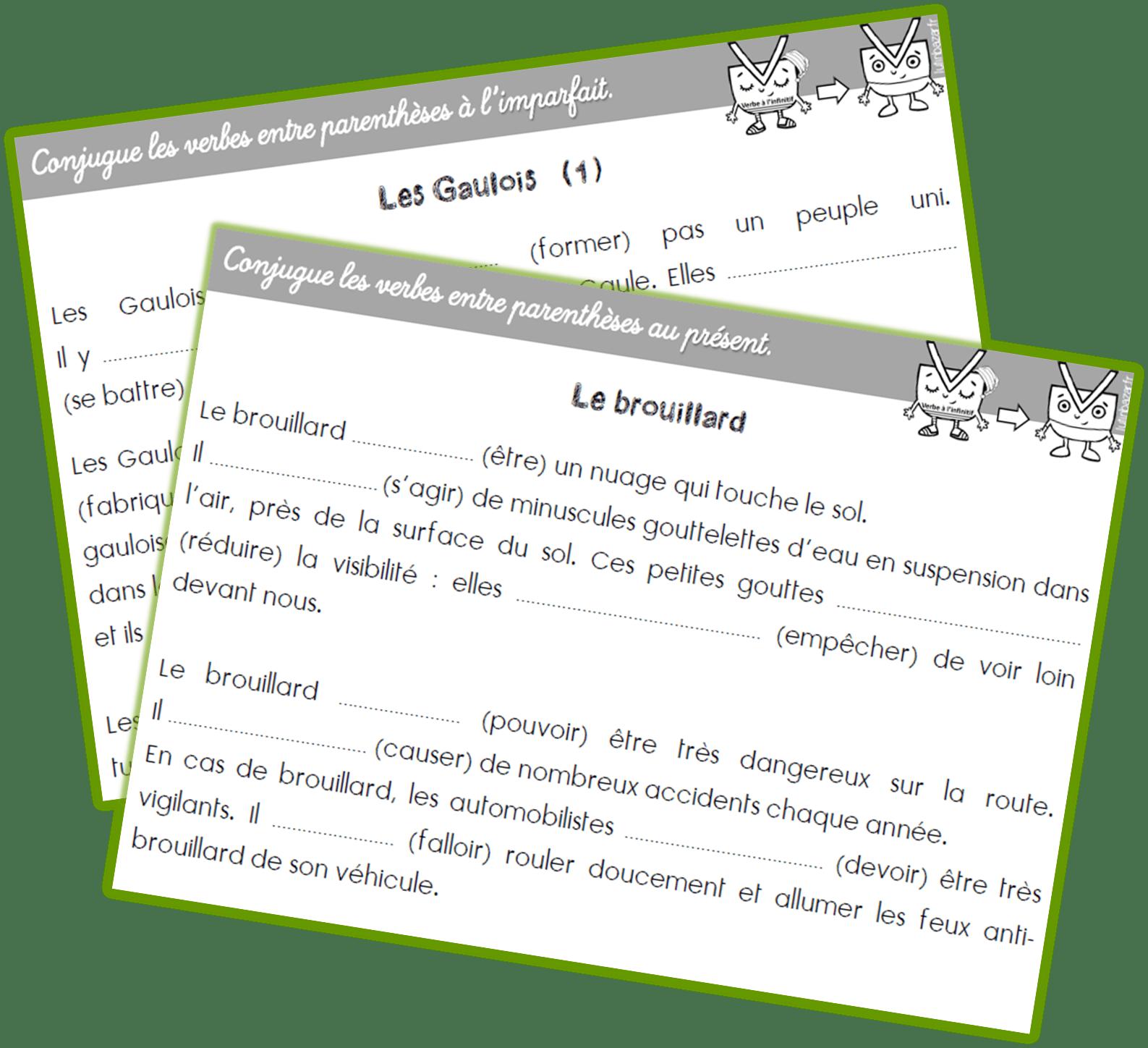 Conjugaison Rituel Ce2 Textes A Trous Conjugaison Ce2 Ce2 Conjugaison