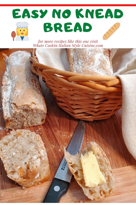 Easy No Knead Bread | Recipe | No knead bread, Food ...