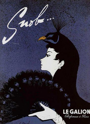 50s ad : Snob, a Le Galion perfume by Addie ♥, via Flickr