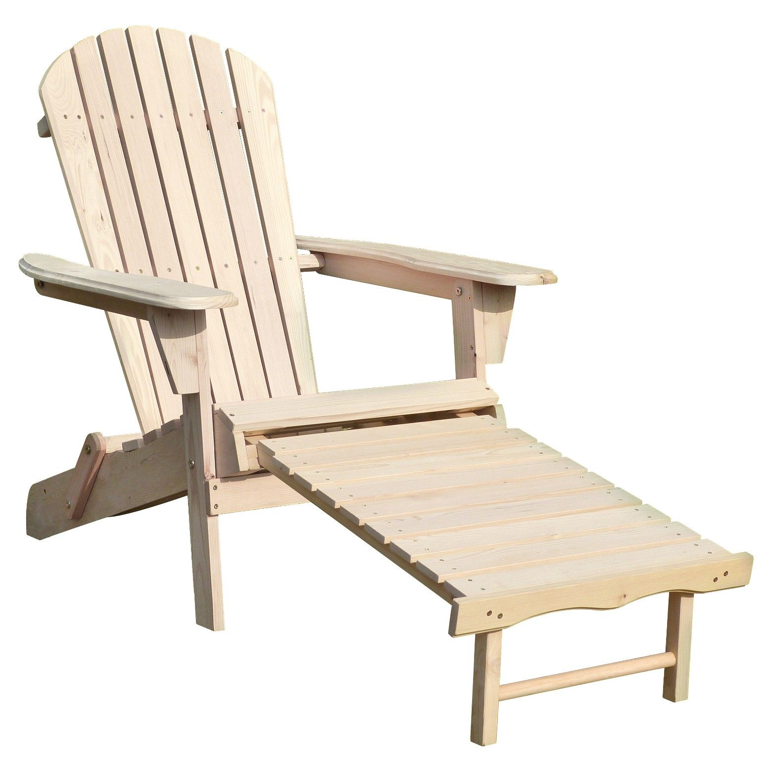This Adirondack chair made out of Canadian Hemlock