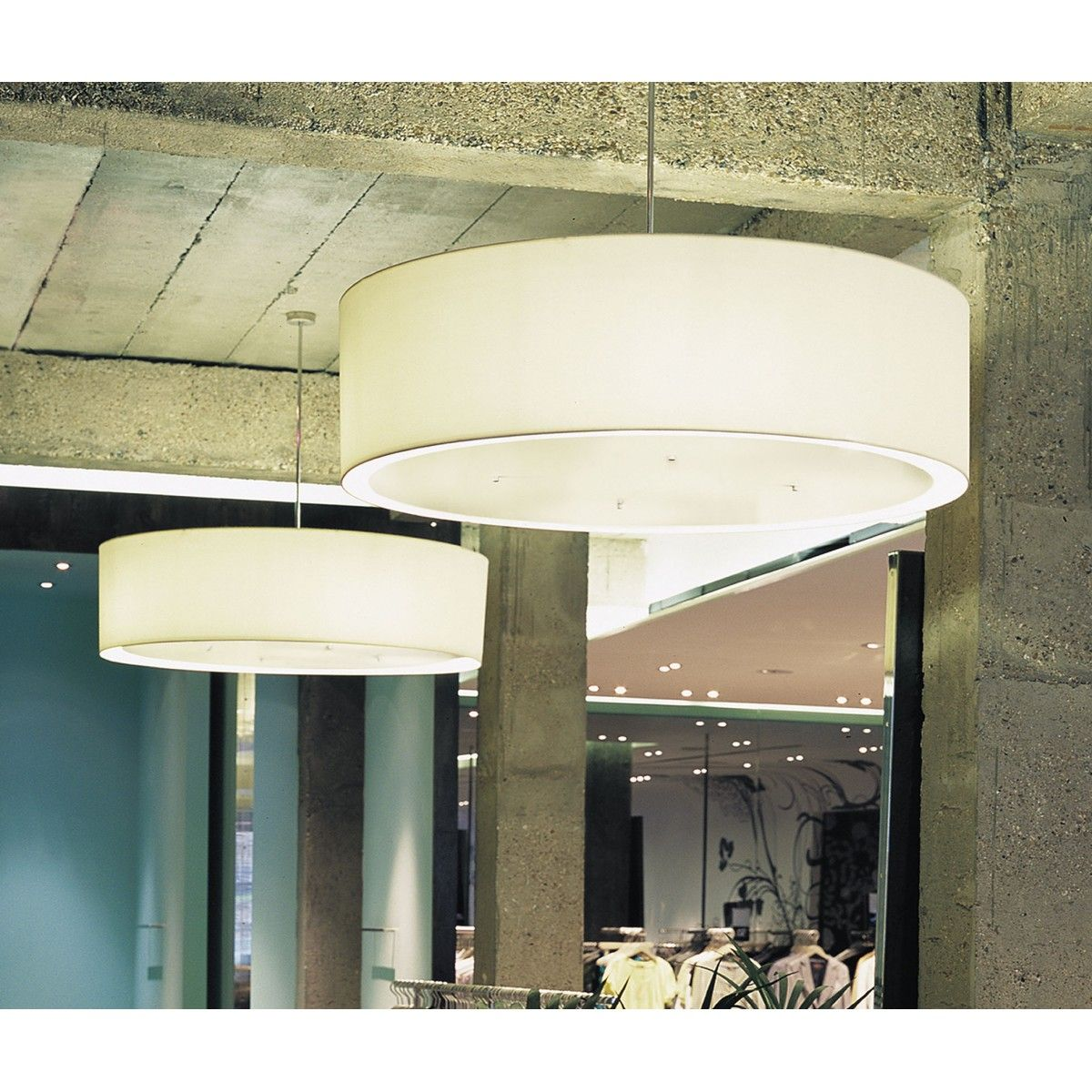 Drum Large Pendant Light