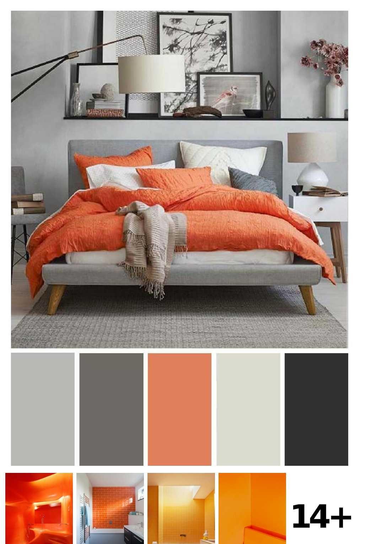 12 Bathroom Aesthetic Orange Ideas  Оранжевые спальни, Цвета