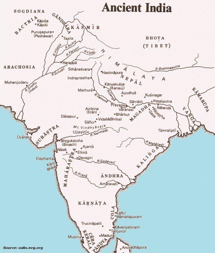 Pin By Tirumal On Ias Ancient India Map India Map Ancient India