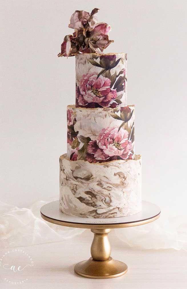 Diese Hochzeitstorten sind unglaublich atemberaubend   – Wedding cakes