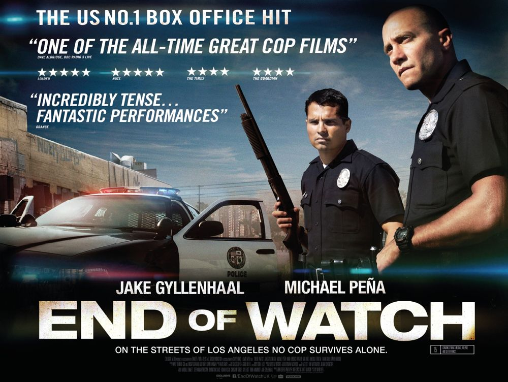 Trailer: End of Watch