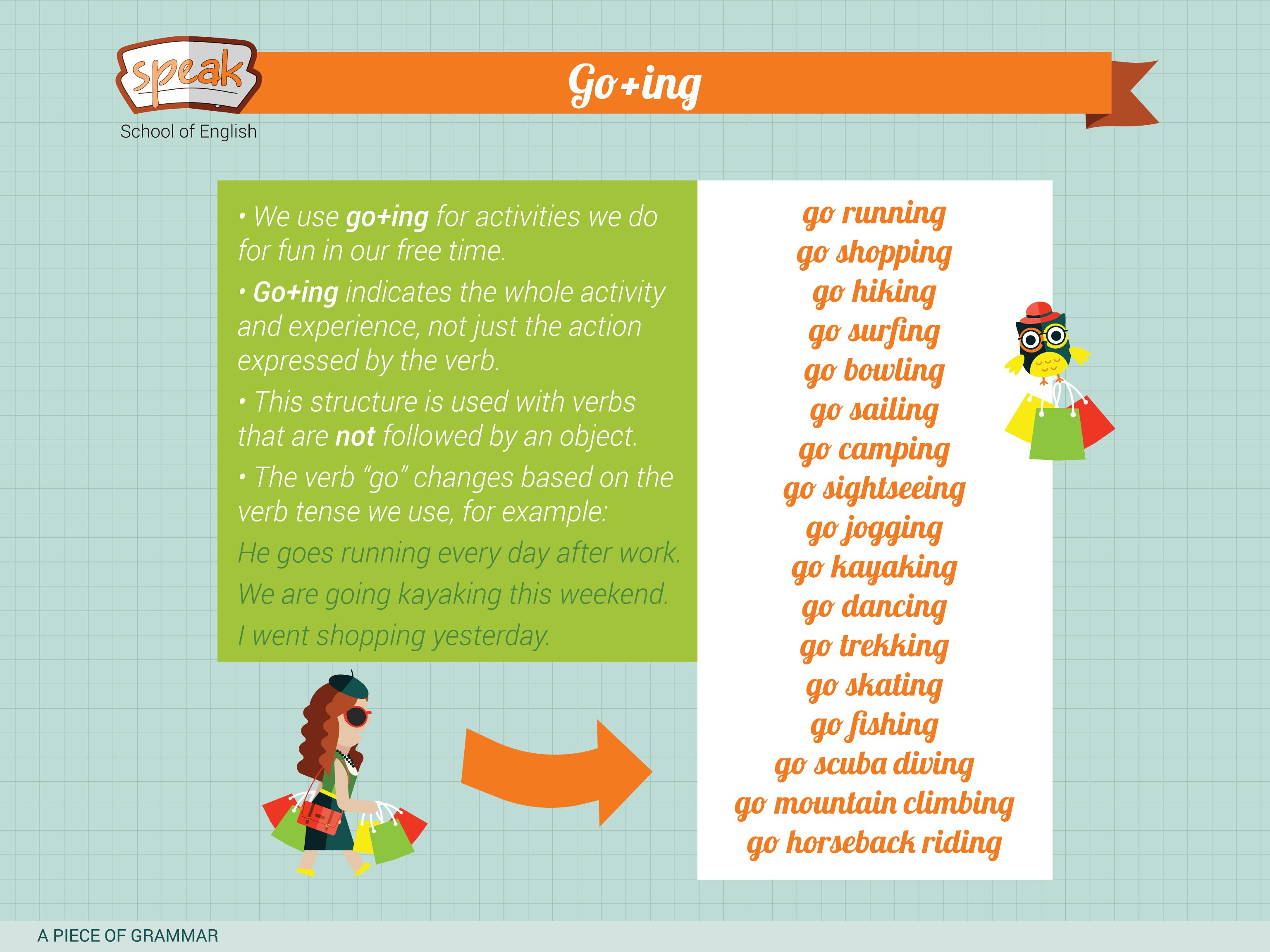 Describing Leisure Activities Using The Gerund A Piece Of