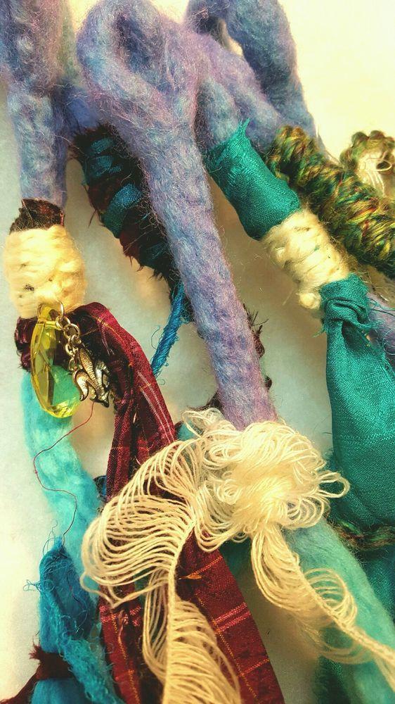 6 Se Ombre Wool Dread Extensions Dreadlocks Wool Hair Accessories
