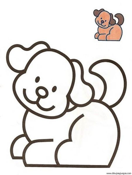 Ninos 2 Anos Dibujos Para Pintar Coloring Pages Farm Animal