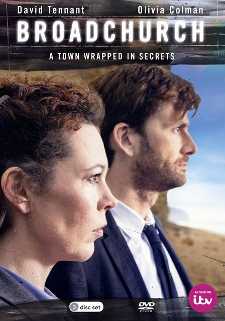 Cover Art For Broadchurch Dvd Revealed Mystery Tv Series Tv